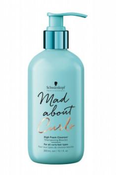Шампунь-крем для тонких, нормальных и жестких волос Schwarzkopf Professional Mad About Curls High Foam Cleanser 300 мл