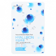 Тканевая маска с гиалуроновой кислотой EUNYUL NATURAL MOSTURE MASK PACK HYALURON 22мл