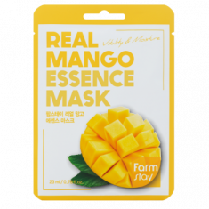 Тканевая маска для лица с экстрактом манго FARMSTAY REAL MANGO ESSENCE MASK 23 мл