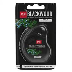 Зубная нить SPLAT SPECIAL Blackwood мята и можжевельник 30 мл