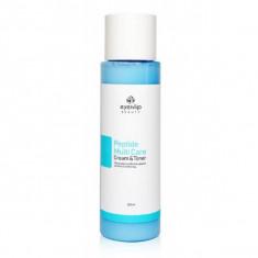 тонер-крем с пептидами 2 в 1 eyenlip peptide multi care cream & toner