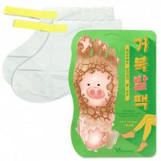 пилинг -носочки для ног elizavecca witch piggy hell pore turtle's foot pack