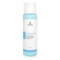 тонер-крем гиалуроновый 2 в 1 eyenlip hyaluronic acid multi care cream & toner