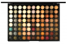 POSH Палетка теней для начинающего визажиста, профессиональная № 2 коричневая гамма (88 оттенков) / Nude Chocolate 56,2 г