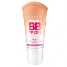 Maybelline тональный крем Dream Satin BB 8-in-1 SPF30 тон 3 натурально-бежевый