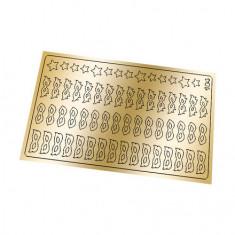 Freedecor, Металлизированные наклейки №184, золото