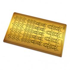 Freedecor, Металлизированные наклейки №222, золото