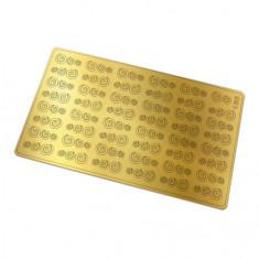 Freedecor, Металлизированные наклейки №166, золото