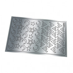Freedecor, Металлизированные наклейки №177, серебро