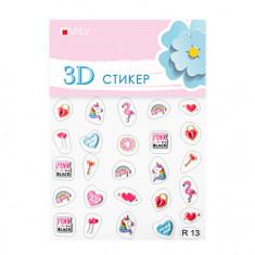 Milv, 3D-cтикер R13