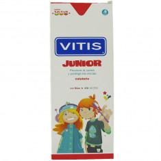Dentaid Зубная паста-гель VITIS junior детская, от 6 лет, со фтором 1450ppm, вкус тутти-фрутти, 75мл