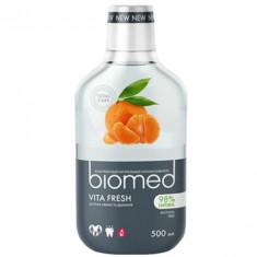 Biomed VitaFresh Пенный ополаскиватель для полости рта 500 мл
