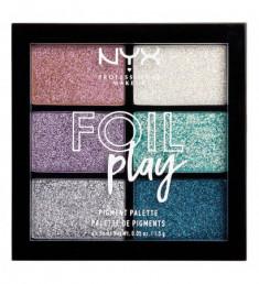 NYX PROFESSIONAL MAKEUP Палетка пигментов Foil Play Pigment Palette - Limit Love
