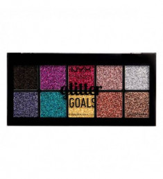 NYX PROFESSIONAL MAKEUP Палетка кремовых глиттеров для лица и тела Glitter Goals Cream Pro Palette