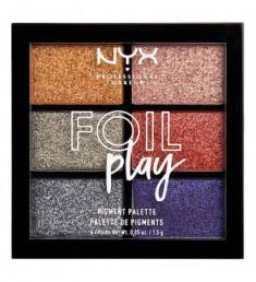 NYX PROFESSIONAL MAKEUP Палетка пигментов Foil Play Pigment Palette - Magnetic Pull