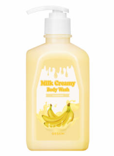 Гель для душа Berrisom G9 MILK CREAMY BODY WASH BANANA 520г