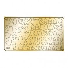 Freedecor, Металлизированные наклейки №195, золото