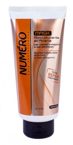 BRELIL PROFESSIONAL Маска с эктрактом овса для ослабленных и чувствительных волос / Numero 300 мл