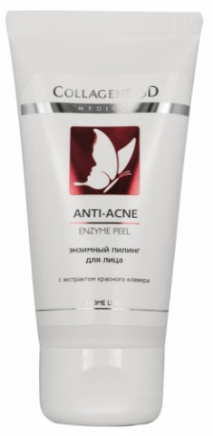 MEDICAL COLLAGENE 3D Гель-пилинг энзимный для лица / ANTI-ACNE 50 мл