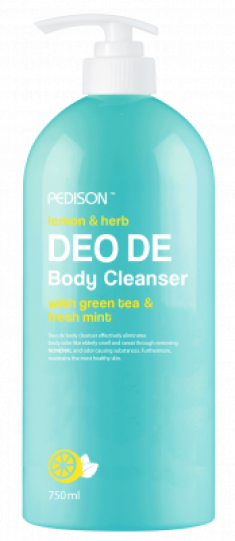 Гель для душа ЛИМОН и МЯТА EVAS Pedison DEO DE Body Cleanser 750 мл