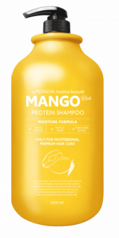 Шампунь для волос МАНГО EVAS Pedison Institute-Beaute Mango Rich Protein Hair Shampoo 2000 мл