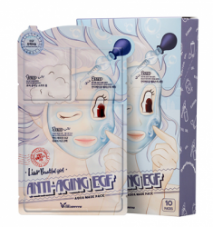 Маска трехступенчатая антивозрастная ELIZAVECCA Anti-Aging EGF Aqua Mask Pack 10 шт