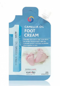 Крем для ног с маслом камелии Eyenlip POCKET CAMELLIA OIL FOOT CREAM 25г