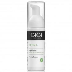 GIGI Мусс очищающий для лица / RETIN А Triple Power 50 мл