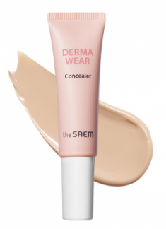 Консилер THE SAEM Derma Wear Concealer 01 Light Beige 10г