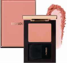 Румяна THE SAEM Eco Soul Luxe Blusher PK01 Rose Signature