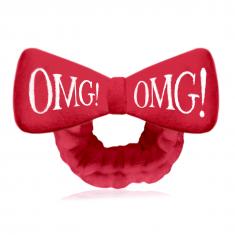 DOUBLE DARE OMG! Повязка косметическая для волос, красная / HAIR BAND-RED
