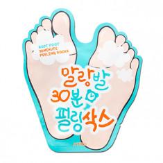пилинг-носочки для ног a'pieu soft foot peeling socks