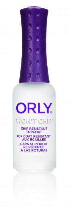 ORLY Покрытие верхнее закрепляющее для ногтей / Won't Chip 9 мл