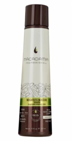 Шампунь увлажняющий для тонких волос Weightless moisture shampoo 300мл MACADAMIA