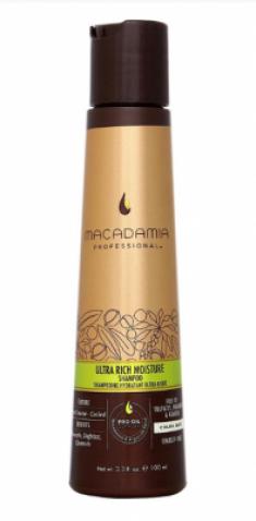 Шампунь увлажняющий для жестких волос Macadamia Ultra rich moisture shampoo 100мл