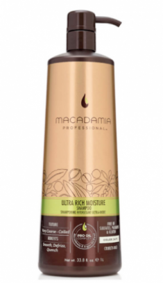 Шампунь увлажняющий для жестких волос Macadamia Ultra rich moisture shampoo 1000мл