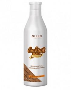 Крем-шампунь Шоколадный коктейль Шелковистость волос OLLIN Cocktail BAR 500мл