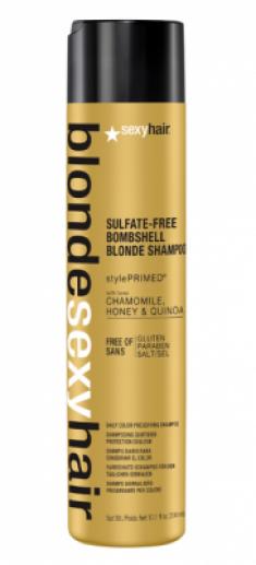 Шампунь для сохранения цвета блонд SEXY HAIR Bombshell Blonde Shampoo 300мл
