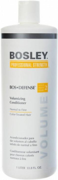 Шампунь питательный для нормальных/тонких окрашенных волос Bosley Воs Defense Step 1 Nourishing Shampoo Normal To Fine Color-Treated Hair 1000мл