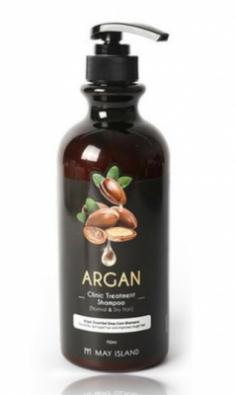 Шампунь для волос с аргановым маслом May Island Argan clinic treatment shampoo 750мл