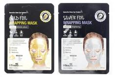 фольгированная маска для лица mbeauty foil wrapping mask