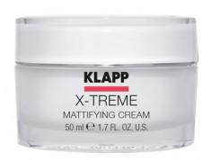 KLAPP Крем матирующий для лица / X-TREME 50 мл
