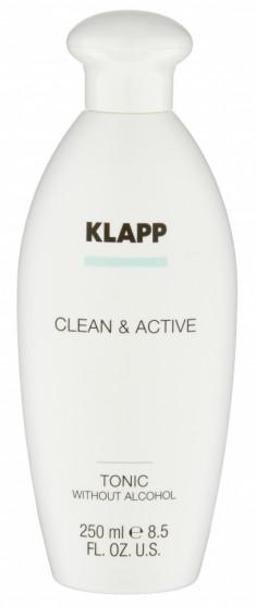 KLAPP Тоник без спирта для лица / CLEAN & ACTIVE 250 мл