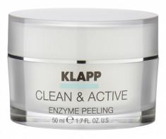 KLAPP Скраб энзимный для лица / CLEAN & ACTIVE 50 мл