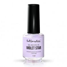 In'Garden, Масло для ногтей и кутикулы Violet star, 11 мл