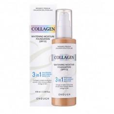 тональная основа с коллагеном 3 в 1 enough 3 in 1 collagen foundation