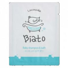 Детский шампунь и пенка для купания 2 в 1 Biato Baby shampoo & bath Lacouvee, 3 мл - 10 шт.