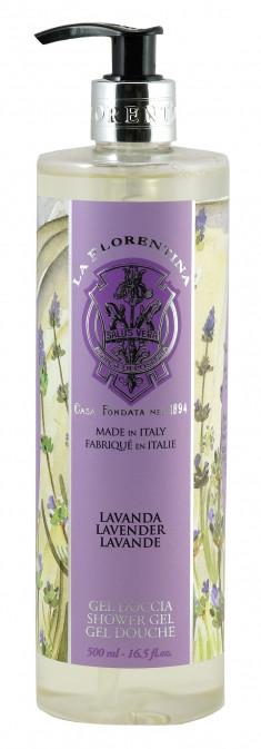 LA FLORENTINA Гель для душа, лаванда / Lavender 500 мл