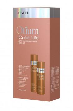 ESTEL PROFESSIONAL Набор для окрашенных волос (шампунь 250 мл, бальзам 200 мл) OTIUM COLOR LIFE