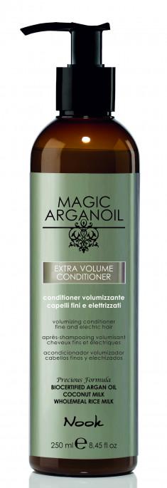 NOOK Кондиционер для придания объема тонким и наэлектризованным волосам / Extra Volume Latte Condtioner MAGIC ARGANOIL 250 мл